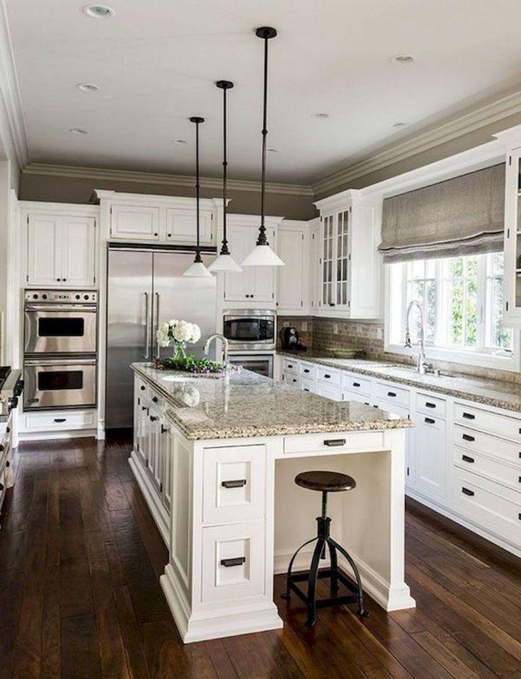 Best Off White kitchen Cabinets Design Ideas (14) # ...