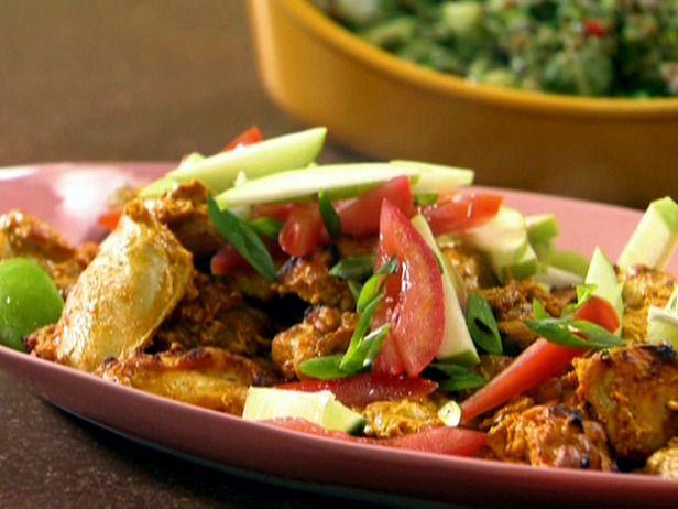 Almost Tandoori Chicken RecipeFood Network, Chicken Recipes, 30 Min Meals, Chicken Dinner, Rachel Ray, Rachelray, Chicken Maine, Rachael Ray, Tandoori Chicken