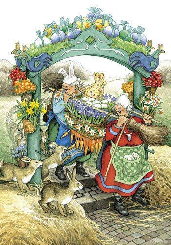 Aunties celebrating Spring