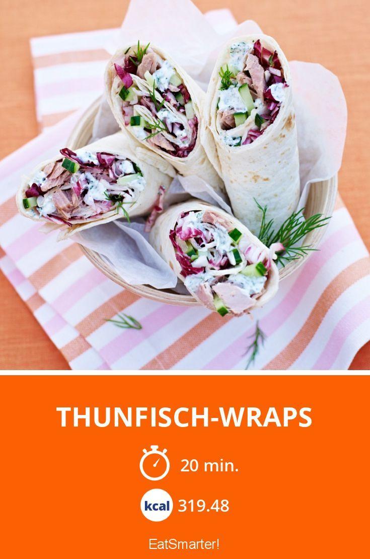 Thunfisch-Wraps - smarter - Kalorien: 319.48 kcal - Zeit: 20 Min. | eatsmarter.de