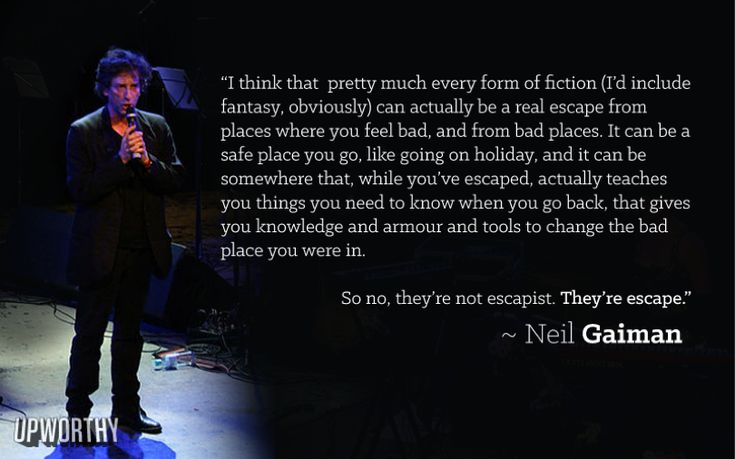 Neil Gaiman Casually Sums Up A Piece Of Every Book Lover's Soul In One Epic Quote