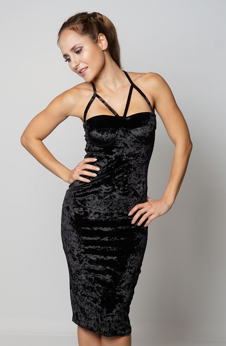 Newly added product: Ladies Fashion Bl... Have a look here:http://www.fbargainsgalore.co.uk/products/ladies-fashion-black-soft-velvet-padded-bust-womens-bodycon-dress?utm_campaign=social_autopilot&utm_source=pin&utm_medium=pin