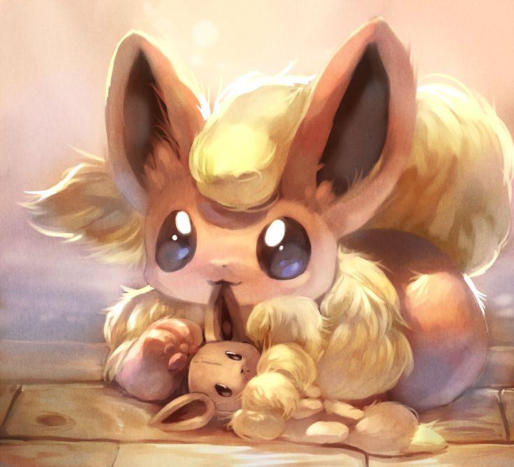 Flareon - Pokemon, pixiv