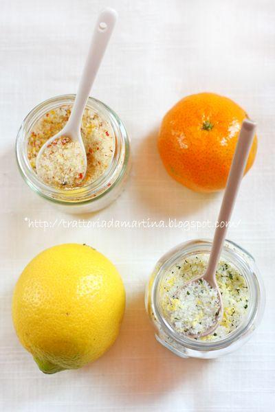 Trattoria da Martina - cucina tradizionale, regionale ed etnica: Sali aromatici: due soluzioni homemade