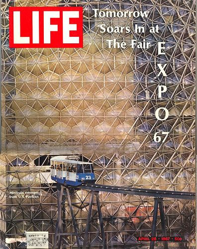 Life Magazine April 28, 1967 featured Expo 67, Montreal's World's Fair