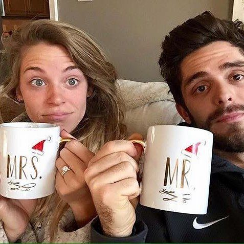 Even Thomas Rhett and his wife love gifts you can find at Heart And Home! #coffee #mrandmrs #santa #thomasrhett by heartandhomede