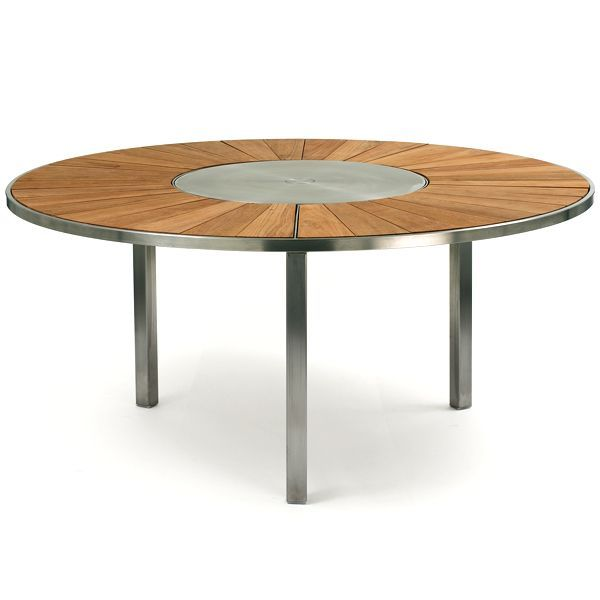 Round Dining Table For 6 With Lazy Susan 180 best tables with built-in lazy susans images on pinterest
