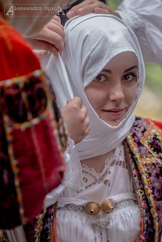Girl from Orune, by Alessandro Spiga | Sardinia