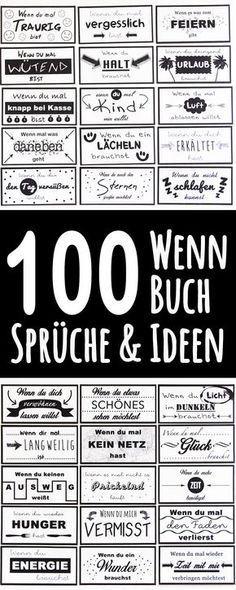 100 if-book-Sprüche # if_book_phrases # if-book #christmas #wennbuch, #christm …   – Handgemacht Kunsthandwerk