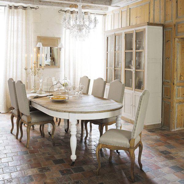 Mesa de comedor de madera ... - Provence