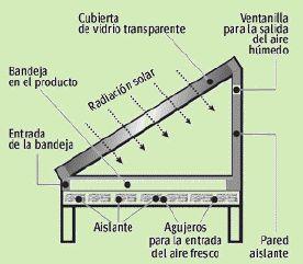 Resultado de imagen para deshidratador solar directo