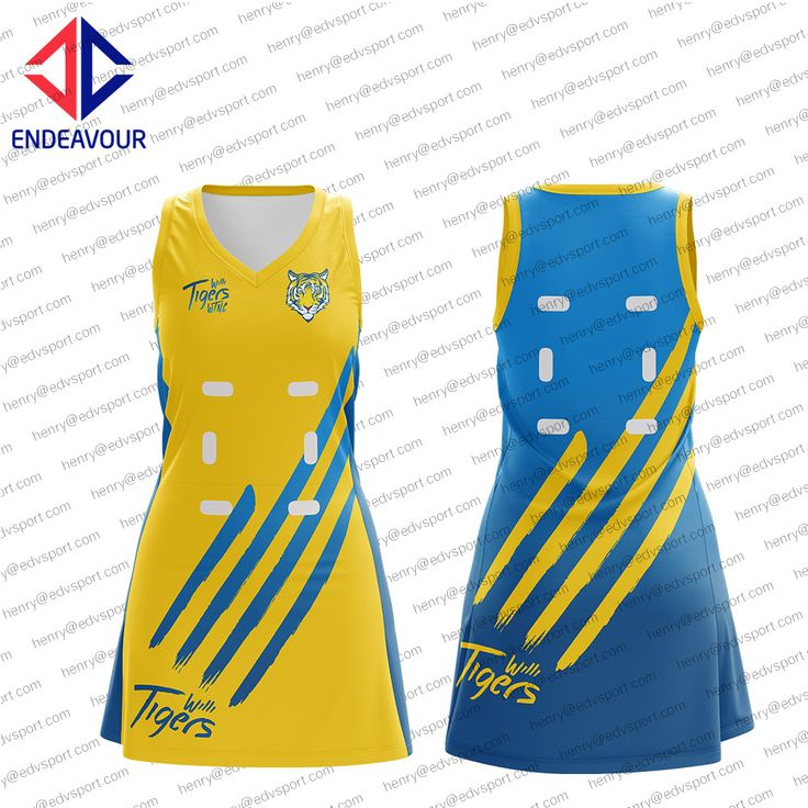 Netball jersey, customize, sublimated, colors optional