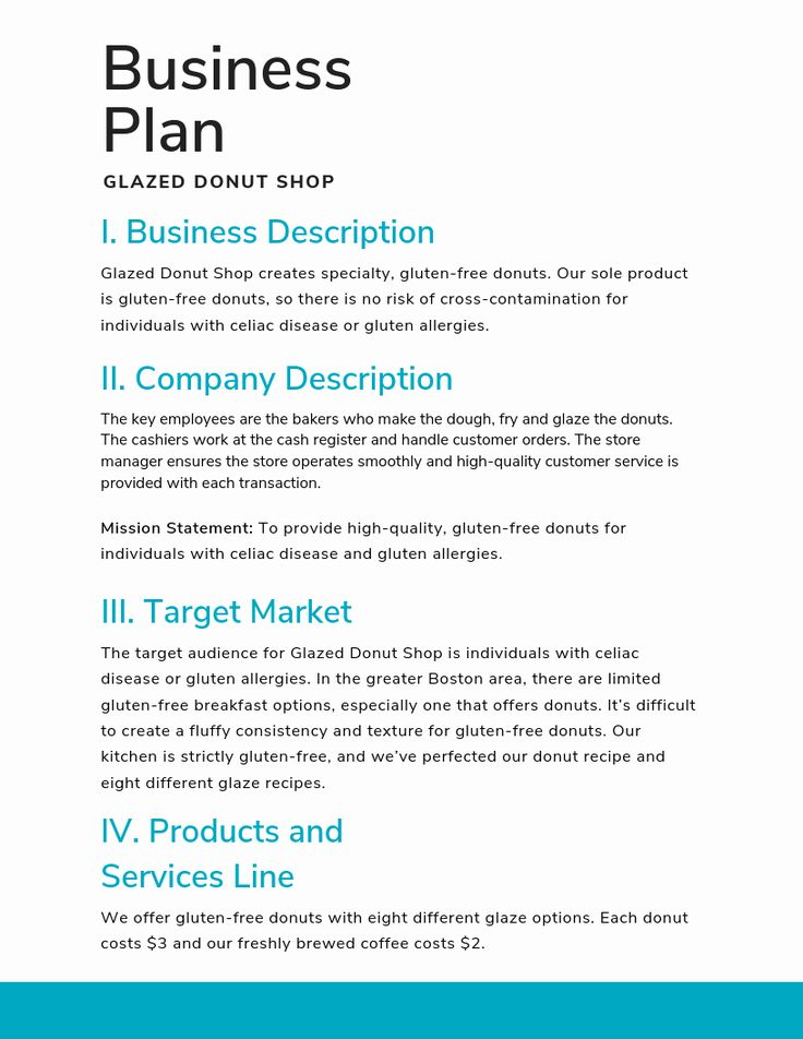 30 Sba Business Plan Template in 2020 Business plan
