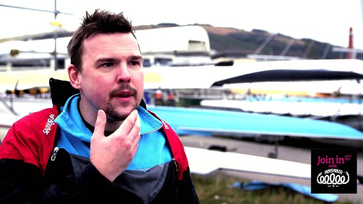 Join In with Movember: A 'Mo Row' in Swansea