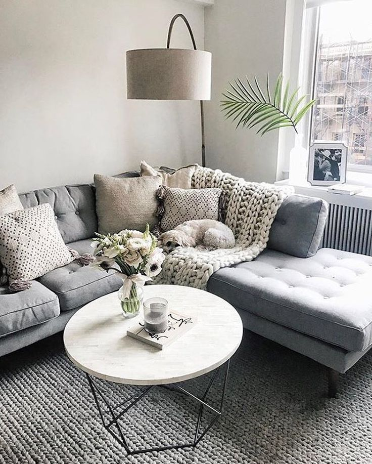 Scandinavian Living Room With Corner Sofa Scandinavian Design Living Room Living Room Scandinavian Minimalist Living Room
