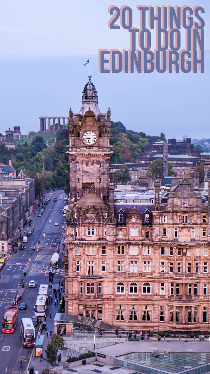 Looking for fun travel ideas in Scotland's capital city? Edinburgh is all you imagined and more!
