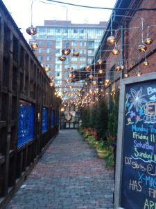 Distillery Market; Christmas Market - Toronto