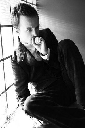 Aaron Paul...not usually my type. But still...yum.