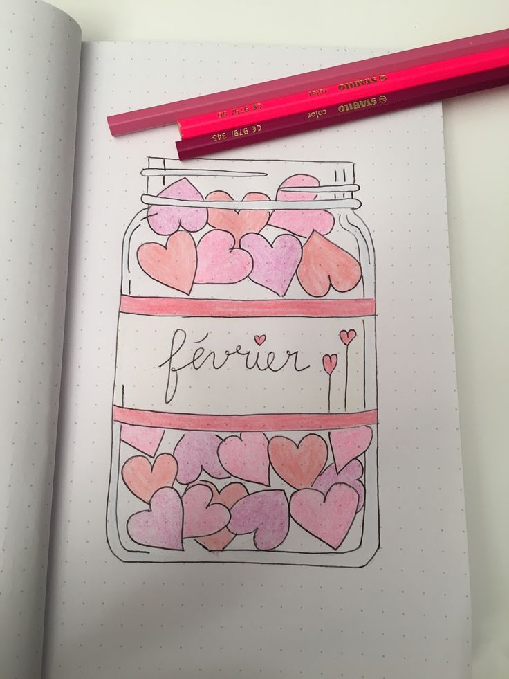#bulletjournal #fevrier #february #bujo #idea #inspiration #month