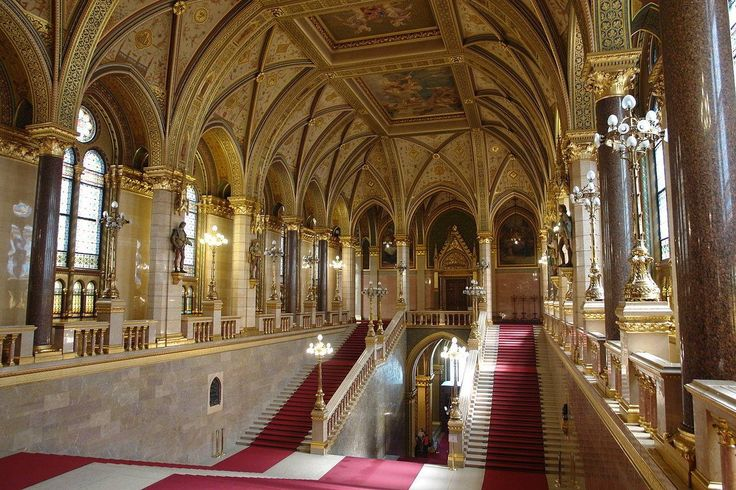 The Parlament - inside photo