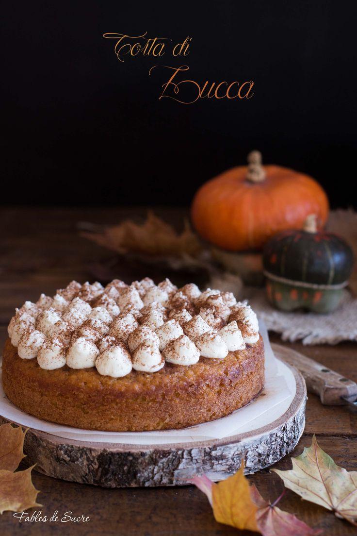 Torta+di+zucca+e+mandorle+morbida