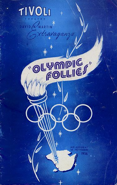 Colm & Blue attended the Olympic Follies at the Tivoli Theatre in Melbourne.
