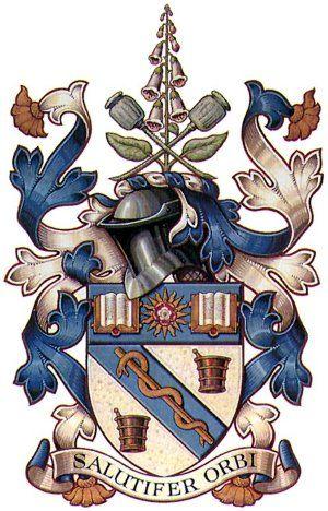 School of Pharmacy Coat of Arms