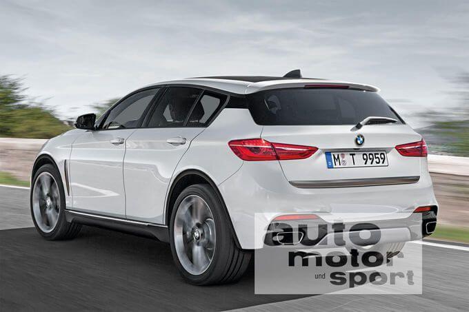 В сети появился новый рендеринг БМВ Х2. Как будет выглядеть задняя часть BMW X2 представлено на свежем фото рендеринге.