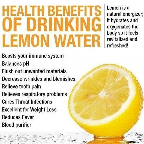 Benefits of drinking lemon water. Some Foods to Help You Lose Weight (Link)