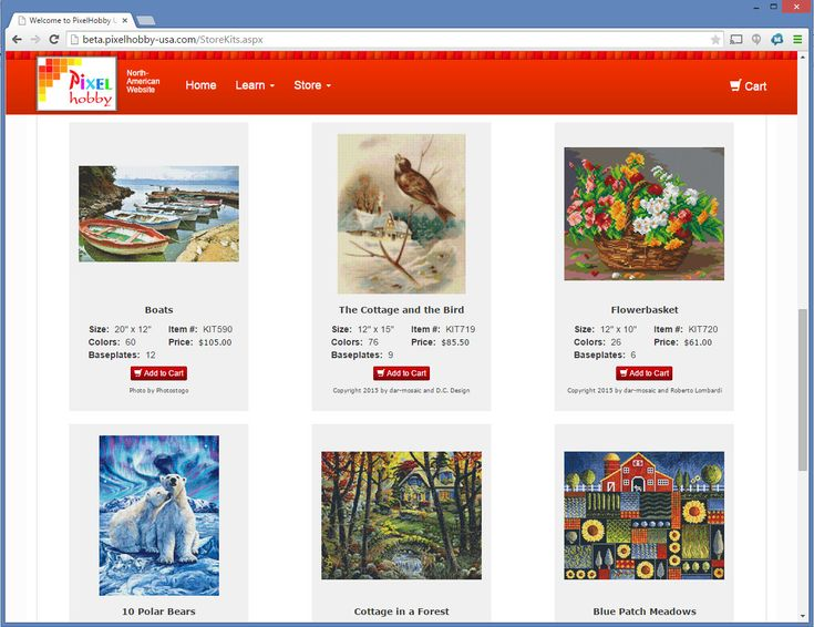 Welcome to PixelHobby USA - The source for mini-mosaic craft supplies.