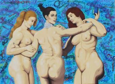 "Saatchi Art Artist Anthony Moman; Painting, ""Obsession"" #art #rubens #saatchiart #anthonymoman #obsession"