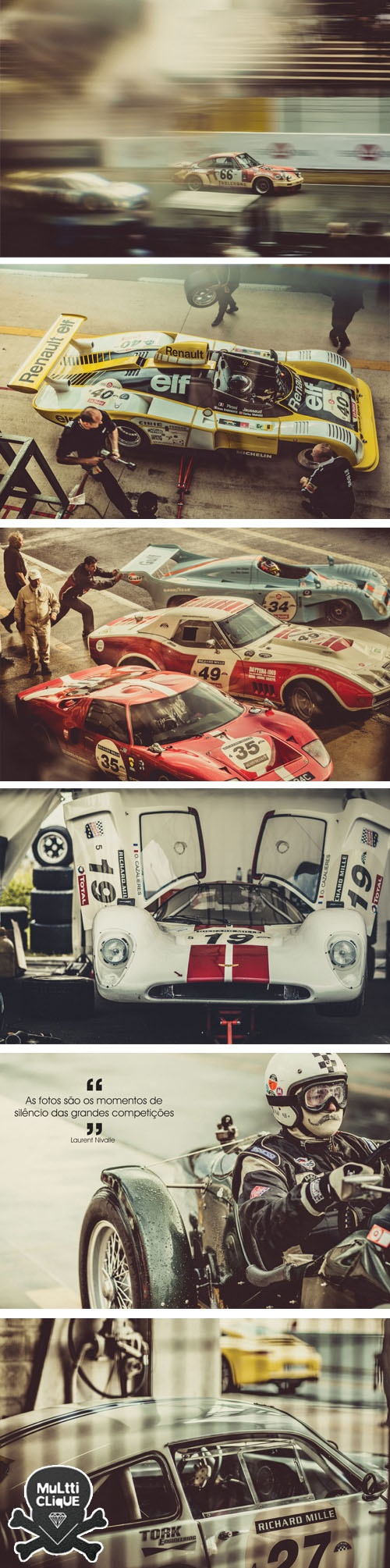 #LeMans Classic ... If you have never been and love cars, this should help you decide on a ticket! #petrolheads