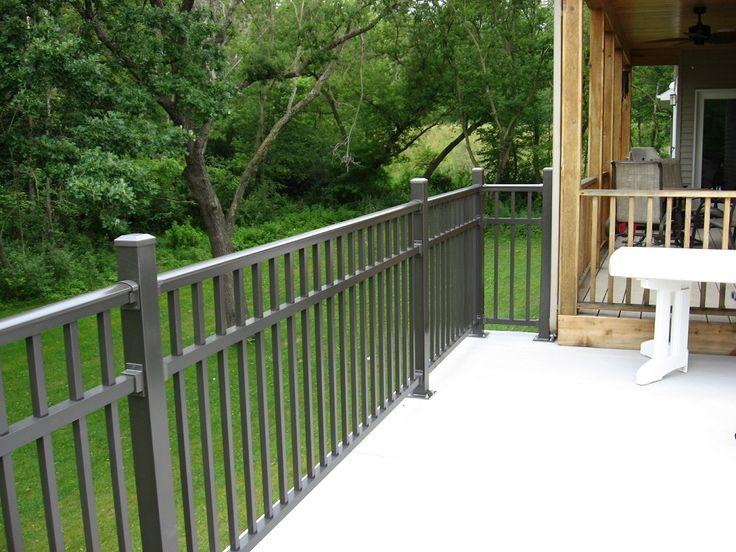 25 Best Ideas About Metal Deck Railing On Pinterest Deck Railings Railing