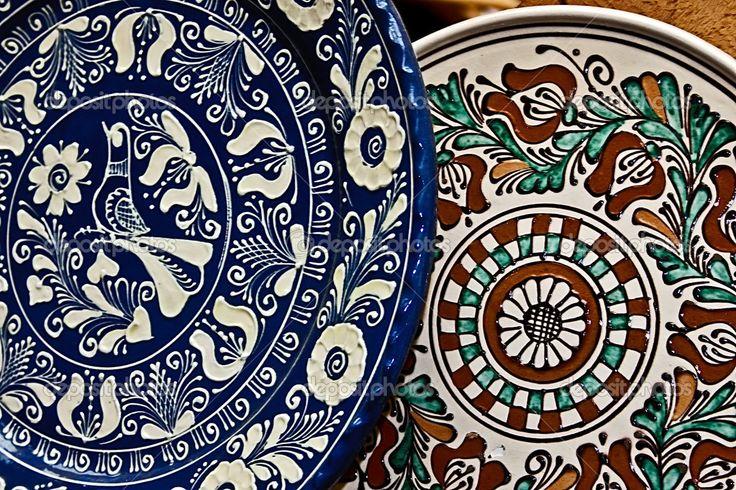 Romanian traditional ceramics 16 — Stock Photo #11133871
