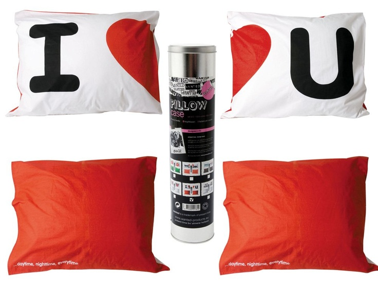 Set fete pentru perna I Love You /  Pillowcase Set I Love You