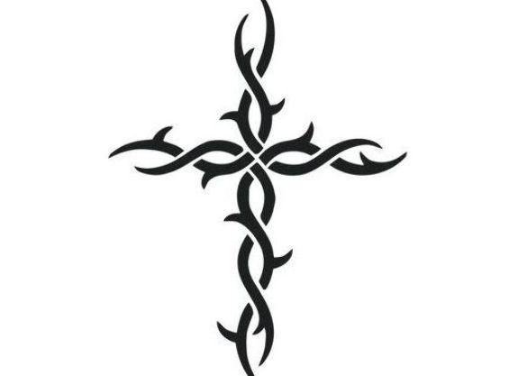 Pin On Cross Tattoo Men