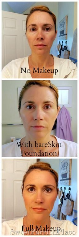 Sweet Parrish Place: bare Minerals bare Skin Foundation - Review