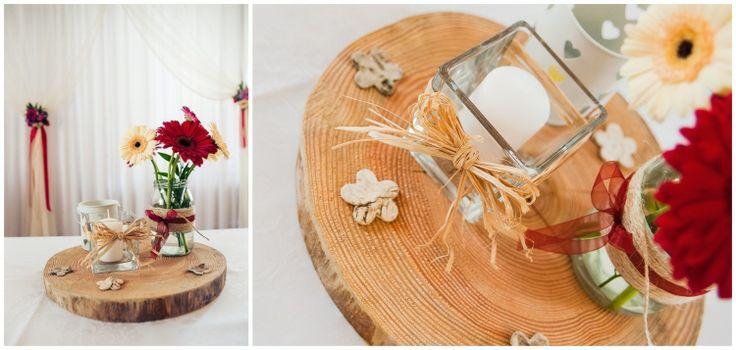 Dekoracje weselne stołów