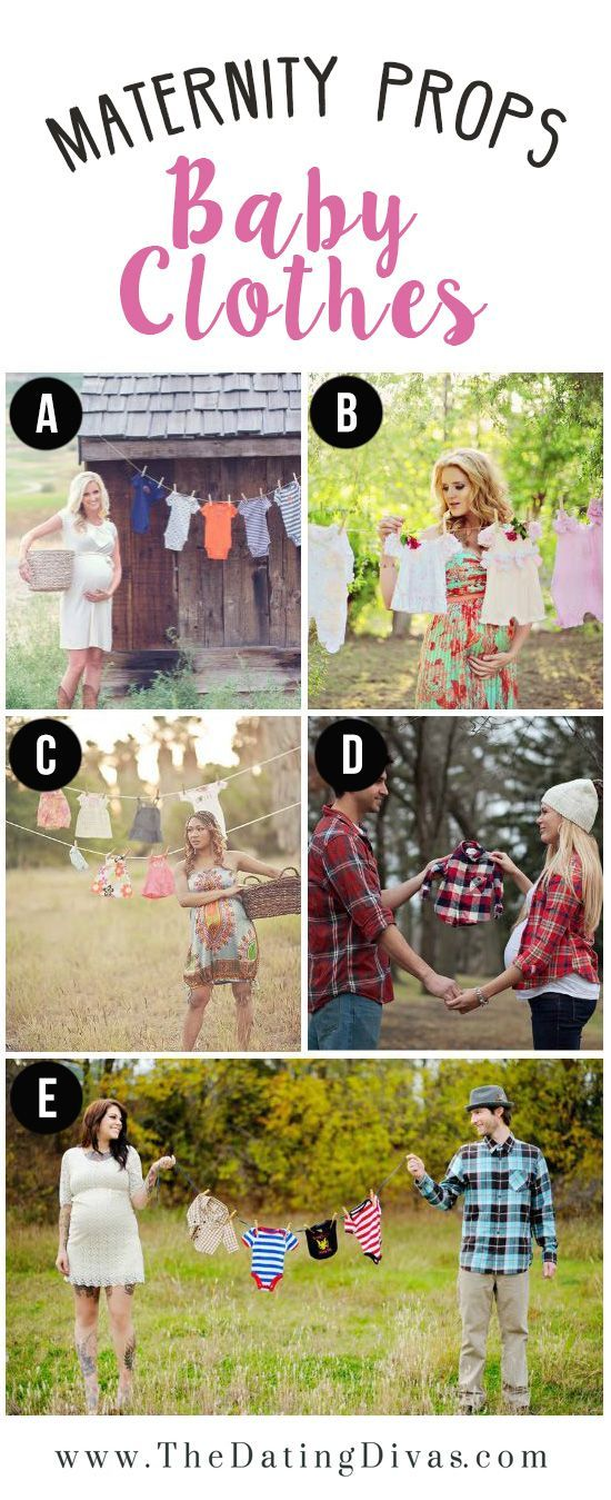 Baby-Clothes-as-Prop-for-Maternity-Photo-Shoot.jpg 550×1,349 pixeles