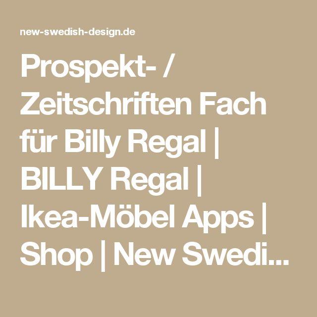 Prospekt- / Zeitschriften Fach für Billy Regal   BILLY Regal   Ikea-Möbel Apps   Shop   New Swedish Design