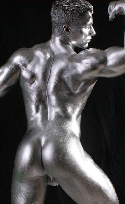 body paint naked boys