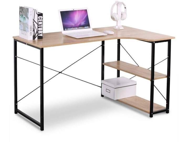 Tisch Schreibtisch Burotisch Arbeitstisch Holz Stahl Tsb06hei Arbeitstisch Burotisch Holz Homeofficedesignvintage In 2020 Wood Office Desk Home Office Desks Desk
