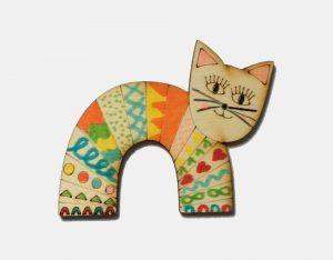 Kočka do šikovných rukou - vzor