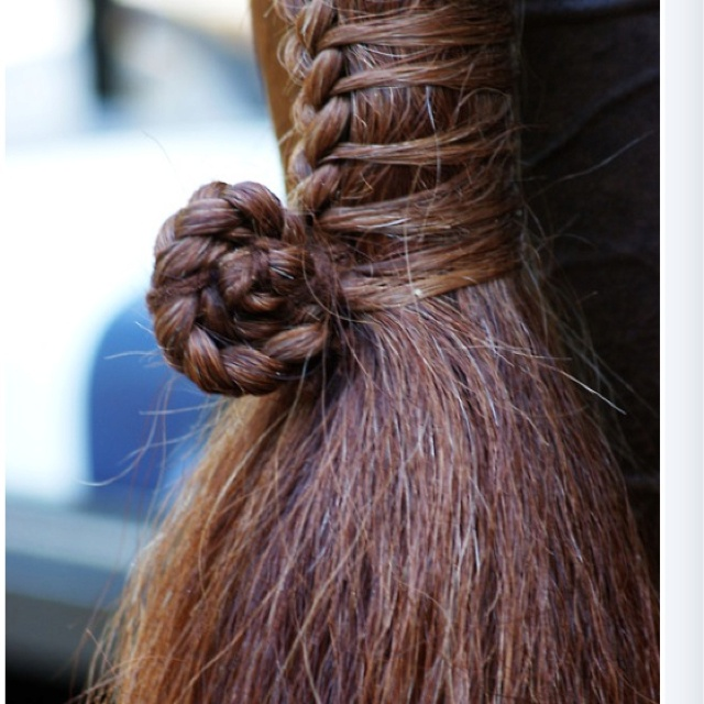 Awesome Horse Tail Braid Horse Stuff Pinterest