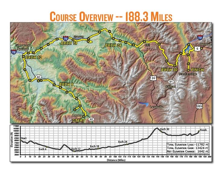 Year 1 Of Ragnar Colorado Aspen To Vail To Breckenridge July 27 And 28 For 188 3 Miles Ragnar Relay Ragnar Colorado