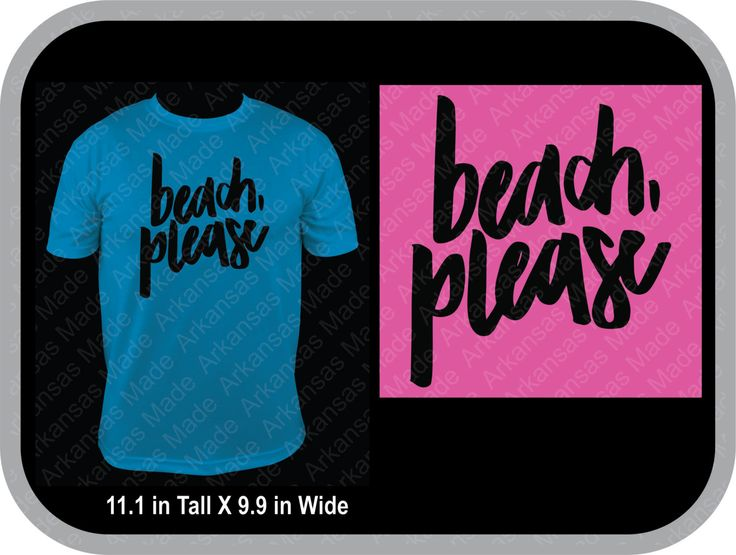 Beach, Please custom shirt, beach T-shirt, available in multiple colors, and sizes - pinned by pin4etsy.com