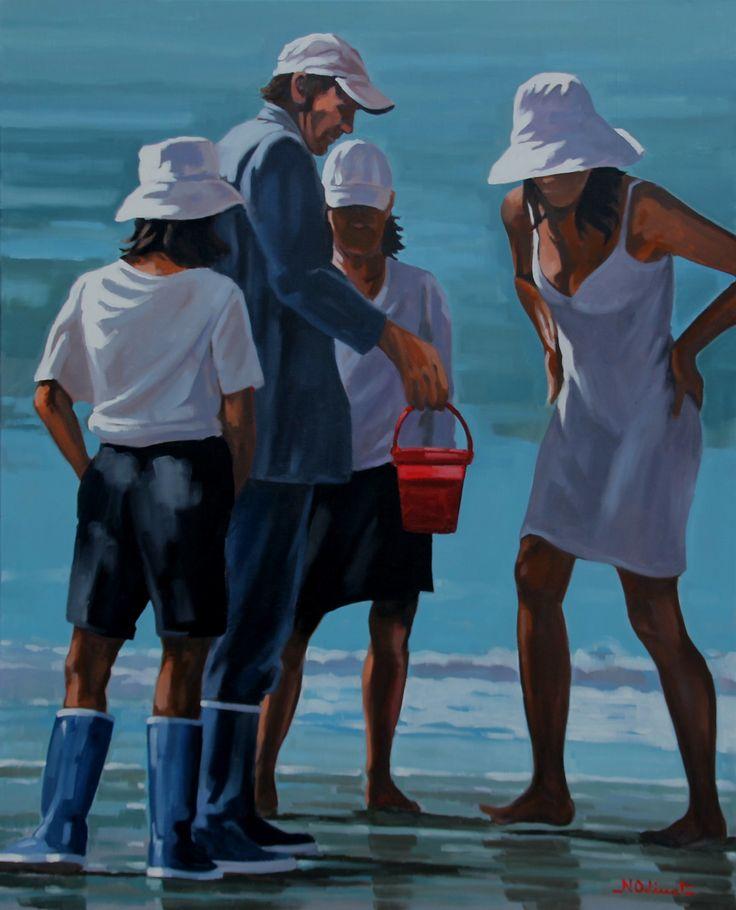 Les 140 meilleures images propos de nicolas odinet sur - Tableaux mer et plage ...