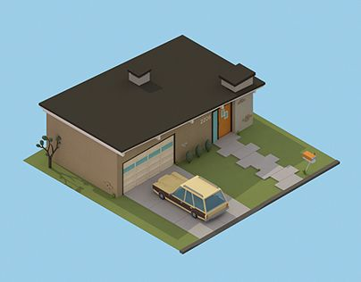 "Check out this @Behance project: ""'30 isometric renders in 30 days' Round 2"" https://www.behance.net/gallery/17333997/30-isometric-renders-in-30-days-Round-2"