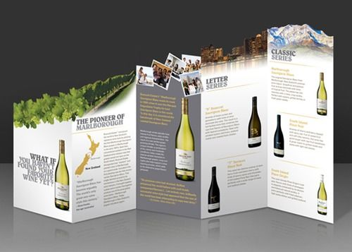 Clever Die Cut Brochure Designs for Excellent Advertising