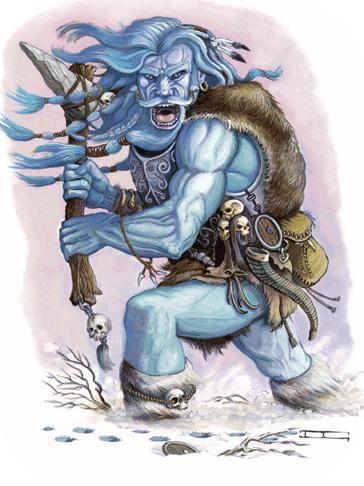 BERGELMIR-Um gigante, pai de todos os gigantes.  Ele e a sua esposa foram os únicos sobreviventes da inundação do sangue de Ymir